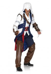 Leg Avenue Assassin's Creed Connor Costume White 85172