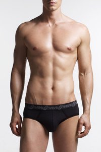 JM Bambou Brief Underwear Black 92523