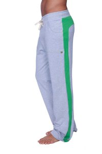 4-rth Eco Track Pants Heather Grey/Green