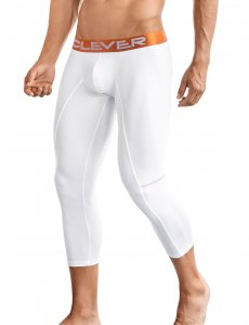 Clever Power Athletic Half Calf Length Long Underwear Pants ...