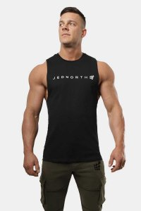 Jed North Apollo Tank Top T Shirt Black JNTOP047