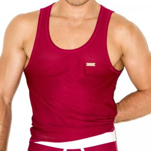 Gigo ZOOM WINE Tank Top T Shirt G10118