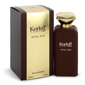 Korloff Royal Oud Eau De Parfum Spray (Unisex) 3 oz / 88.72 ...
