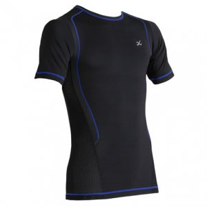 CW-X Ventilator Web Short Sleeved T Shirt Black 270053