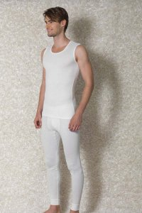 Doreanse Athlete Muscle Top T Shirt White 2460