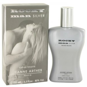 Jeanne Arthes Rocky Man Silver Eau De Toilette Spray 3.3 oz ...