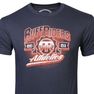 Ruff Riders Athletics Short Sleeved T Shirt Navy