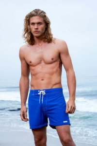 Sauvage Low Tide Surf Shorts Swimwear Cobalt 555