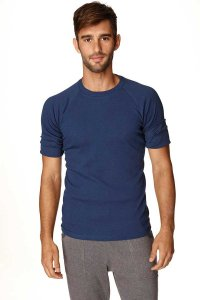 4-rth Hybrid Raglan Short Sleeved T Shirt Royal Blue