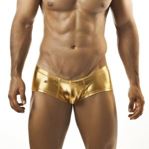 Clearance Joe Snyder Cheek Boxer Brief 13 Bold Gold Underwear & Swimwear