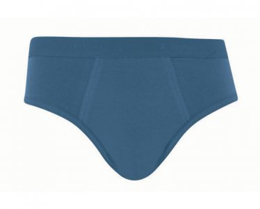 Lupo Cotton/Elastane Slip Brief Underwear Blue 485-02