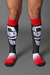 CellBlock 13 Velocity Socks Red A042