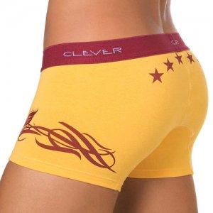 Clever Underwear Stars Badge Boxer Brief 0159 USA1