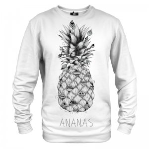 Mr. Gugu & Miss Go Ananas Unisex Sweater S-PC707