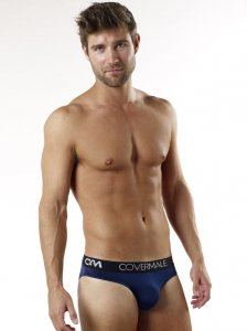 Cover Male Waisted Up Bikini Underwear & Swimwear Navy 115