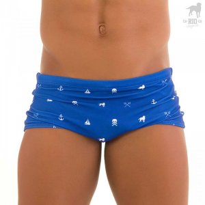 CA-RIO-CA Neptune Traditional Square Cut Trunk Swimwear CRC-S117100