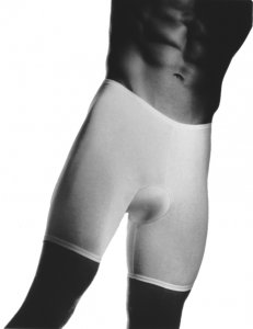 Andiamo! Padded Skins Long Boxer Brief Underwear White 1112