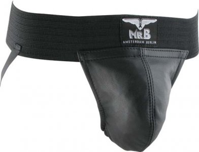 Mister B Two Bands Plain Jock Strap Underwear 210100