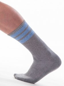 Barcode Berlin [3 pack] Me-Time Socks Grey/Blue 91367-717