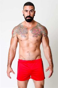 CellBlock 13 Blindside Shorts Red CBS016