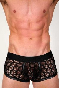 Pistol Pete Cubic Trunk Underwear Black UT455-125