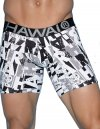 Hawai Grafitti Logo Boxer Brief Underwear White 4959