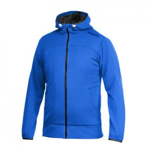Craft Leisure Full Zip Hood Long Sleeved Jacket Sweden Blue 1901692
