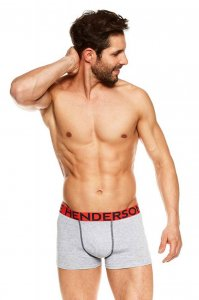 Henderson [2 Pack] Jack 36614-MLC Boxer Brief Underwear Grey...