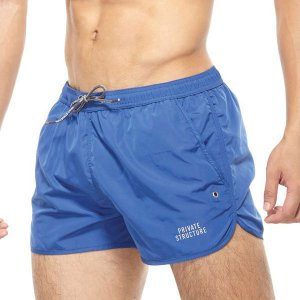 Private Structure Be-Fit Athlete Running Shorts Blue BATMB3354BT