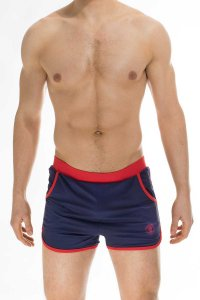 L'Homme Invisible Swimgym Shorts Swimwear Navy SWIMGYM-OCE-0...