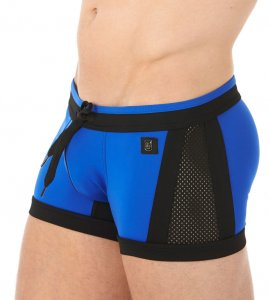 Gregg Homme DEEPDIVE Boxer Square Cut Trunk Swimwear Royal 133975