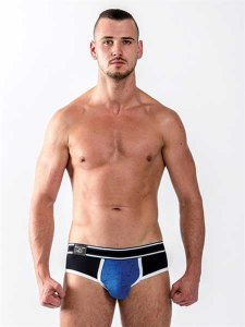 Mister B Urban Castro Brief Underwear Blue/Black 821810