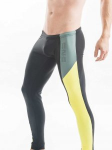 N2N Bodywear Galaxy 2.0 Runner Pants Black R63