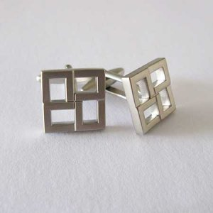 Distino Of Melbourne Flagstone Cufflinks C12