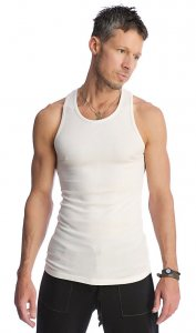 4-rth Sustain Tank Top T Shirt White STA-W