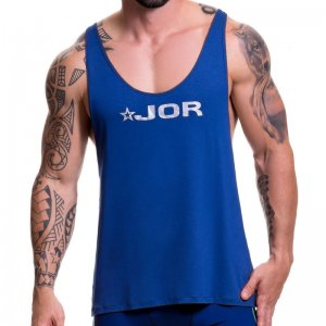 Jor GAME Tank Top T Shirt Blue 0517
