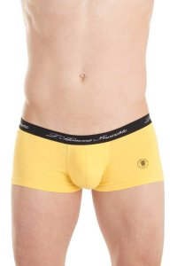 L'Homme Invisible Push Up Hipster Boxer Brief Underwear Yellow MY39-BAS-005