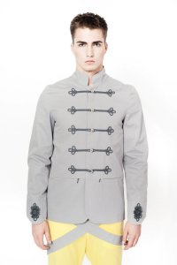 Sopopular Daniel Sweater Jacket Grey 416-11-94367