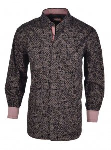 Spazio Roana Long Sleeved Shirt Black 41-S-1773