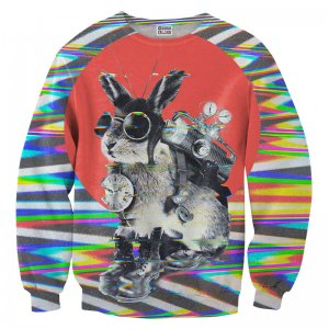 Mr. Gugu & Miss Go Time Traveller Unisex Sweater S-PC734