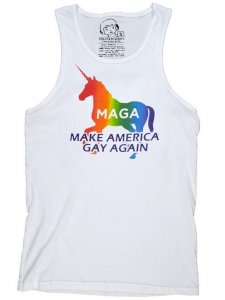 Polly & Cracker Make America Gay Again Tank Top T Shirt PC28