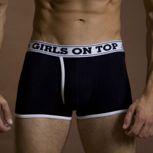 Schultz Girls On Top Boxer Brief Underwear Black
