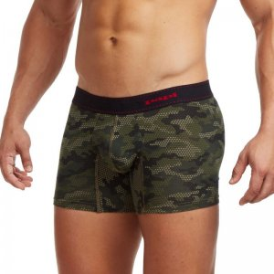 Papi Force Of Nature Trunk Underwear Green Camo 980511-306