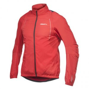 Craft Active Bike Convert Long Sleeved Jacket Bright Red 1900701