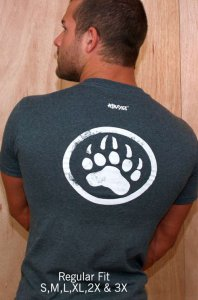 Ajaxx63 Regular Fit T Shirt Dependable Woof RF18