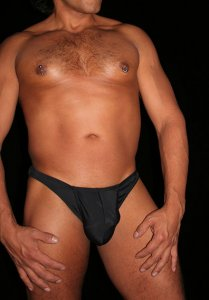 Arroyman After Dark Exposable Brief Underwear Black AFTER02