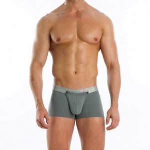 Modus Vivendi Hole Pocket Boxer Brief Underwear Grey 02622