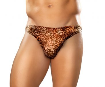 Male Power Moonshine Animal Brief Underwear Leopard 300030 USA3