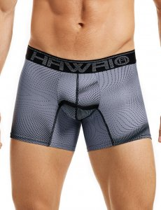 Hawai Raster Dots Boxer Brief Underwear Grey 41808