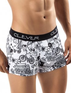 Clever Van Boxer Brief Underwear Black 2237
